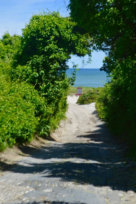 1 Minute walk down path to Nauset Beach