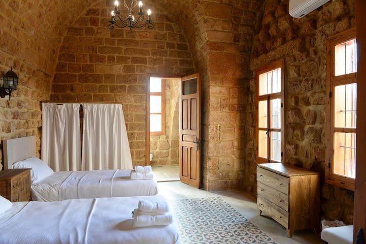 Sandstone Room in old Batroun 1317-C