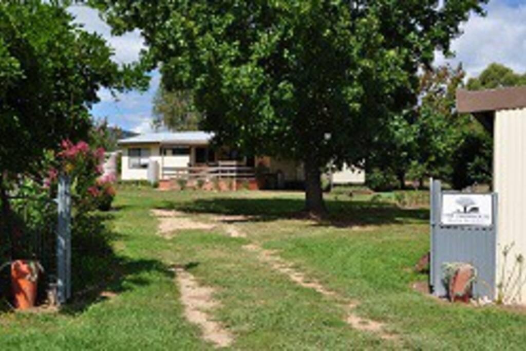 Entrance to the Farmhouse