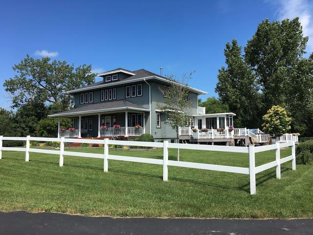 Centennial Farmhouse in the Country.