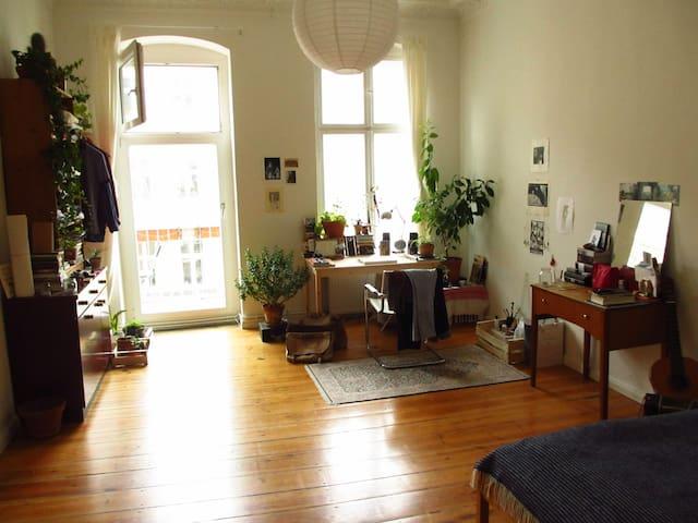 Big room with balcony in kreuzberg