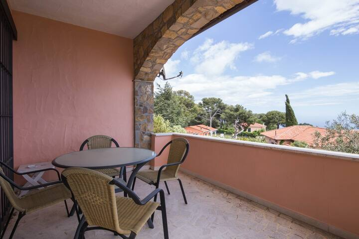Casa Bellevue - Bellavista home - Cipressa - 公寓