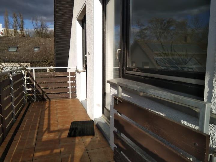 Ruhige Zweizimmerwohnung in Detmold