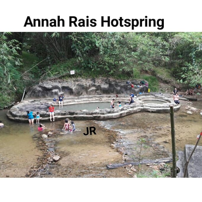 You will reach the hotspring after 2Hours of Jungle Trekking. You can boil some eggs there. There is alternative way to reach the hotspring too.