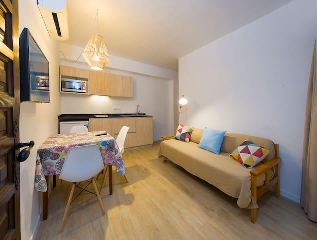 Bonito centrico apartamento cerca de la playa