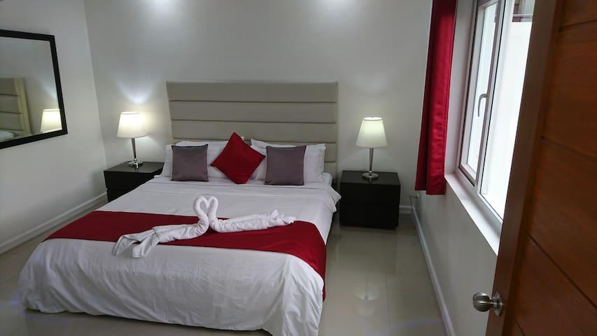 Popular one-bedroom suite in Ambassador Suites, S1