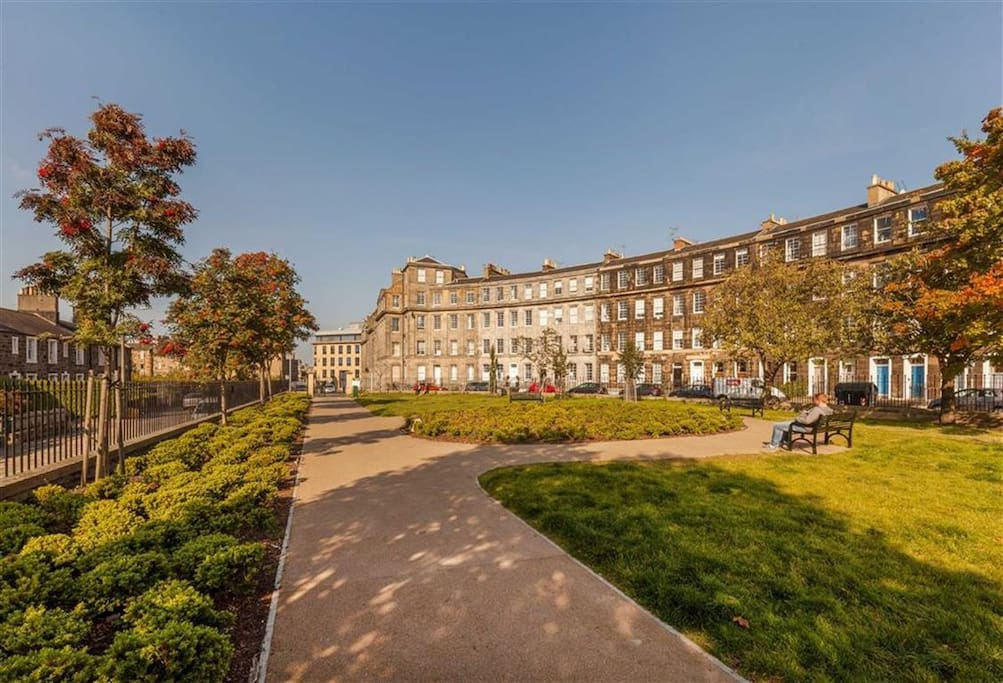 Conference centre lies 200 metres to the north, though you'd never know it from here!