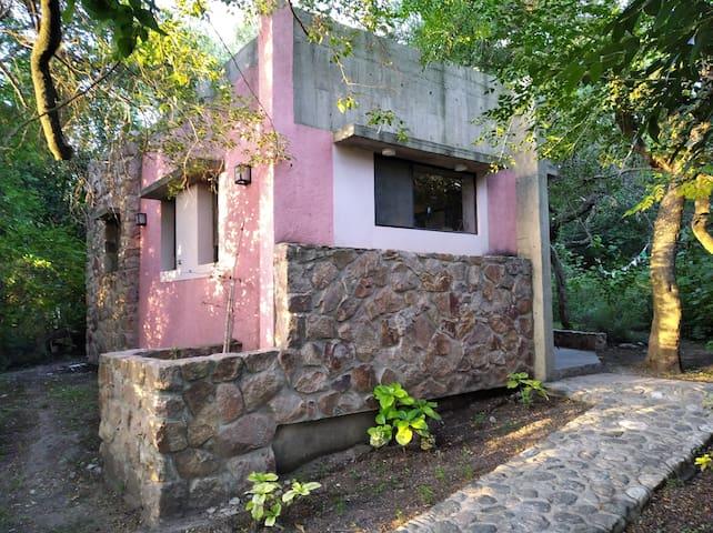 Cabaña 🌹 - Pileta con vista al C° Champaqui
