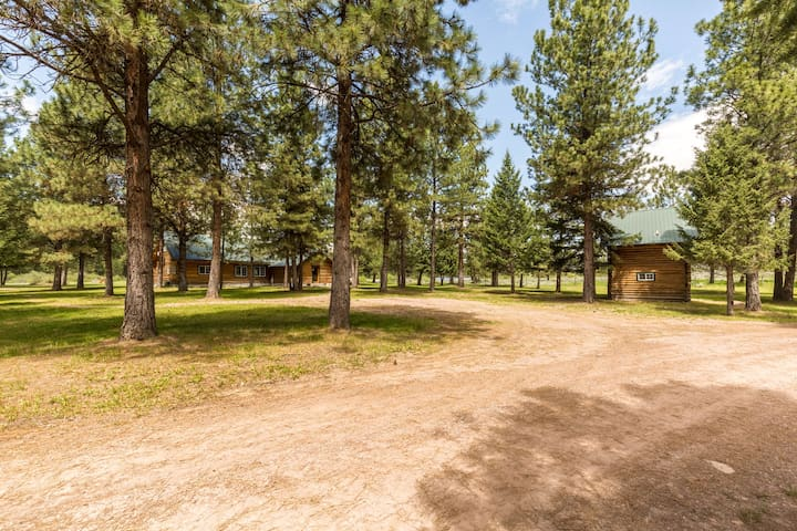 First look at the Clearwater Lodge and the Blackfoot Bunkhouse