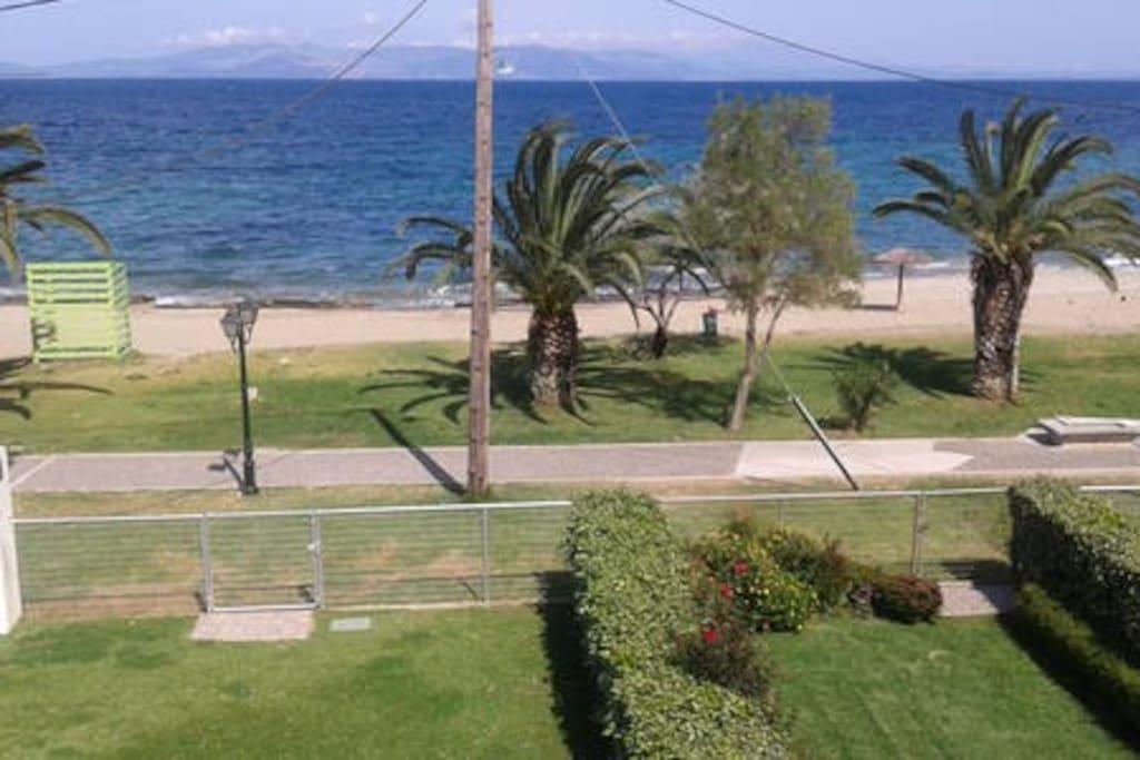 WONDERFUL VIEW OF THE AEGEAN BALCONY !!!