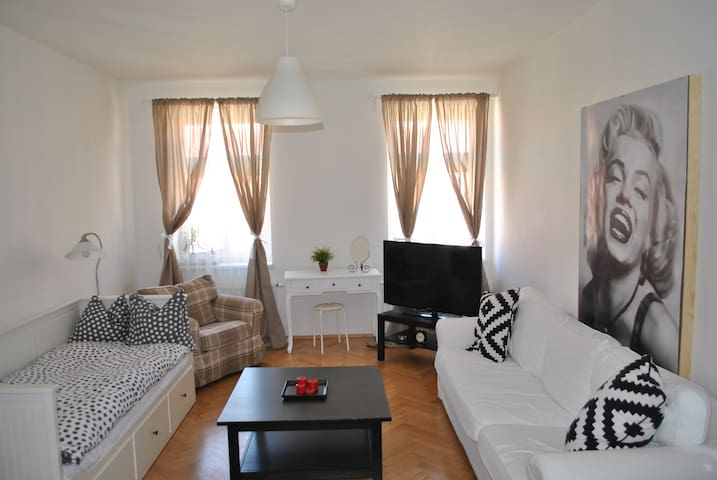 Beautiful & cozy room, city center - Praga - Apartamento