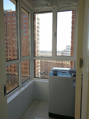 绥中东戴河海景房两室一厅特色家居民宿,设施齐全,交通方便,价格优惠