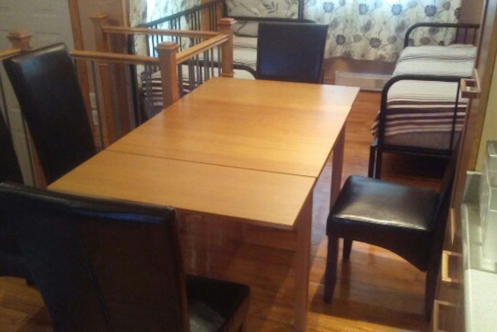 Dining table for 5 people