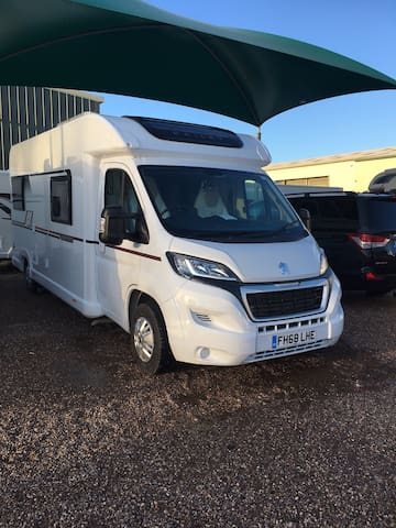 Our 6 berth brand new this year Motorhome