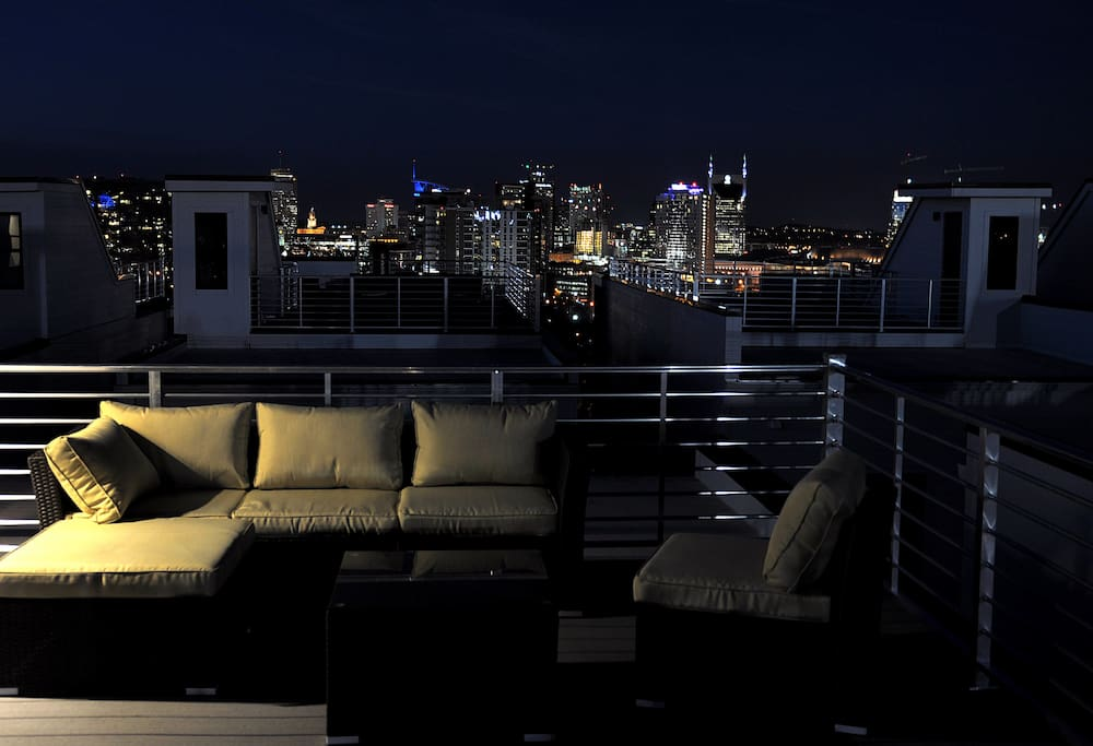 Sit back, relax, and enjoy the view from our rooftop
