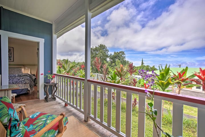 NEW! Big Island Home, Mins to Ocean & Kona Coffee!