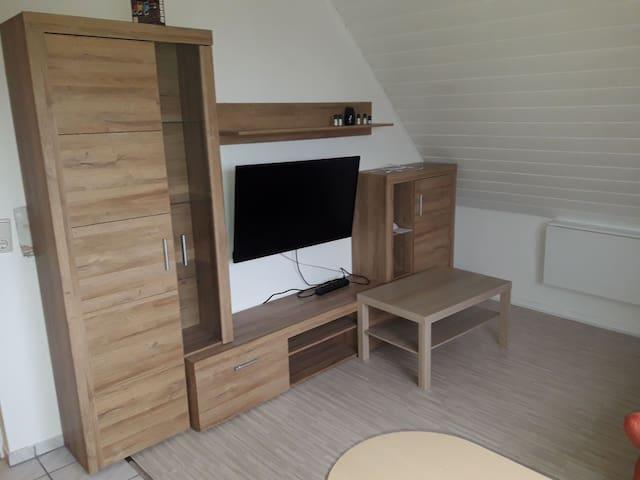 Kleine Wohnung mit eigenem Bad und Kochnische