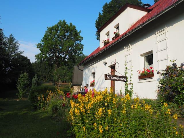 Ferienwohnung in Fichtelberg / Neubau - Fichtelberg - Lägenhet