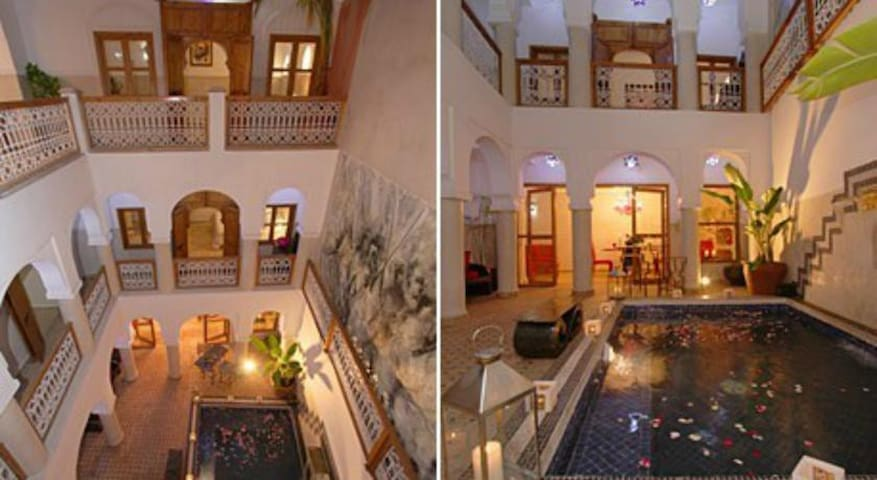 Riad Chalymar one or several double/triple room