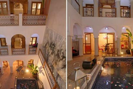 CHAMBRE SUPERIEURE  AU RIAD CHALYMAR - Guesthouse