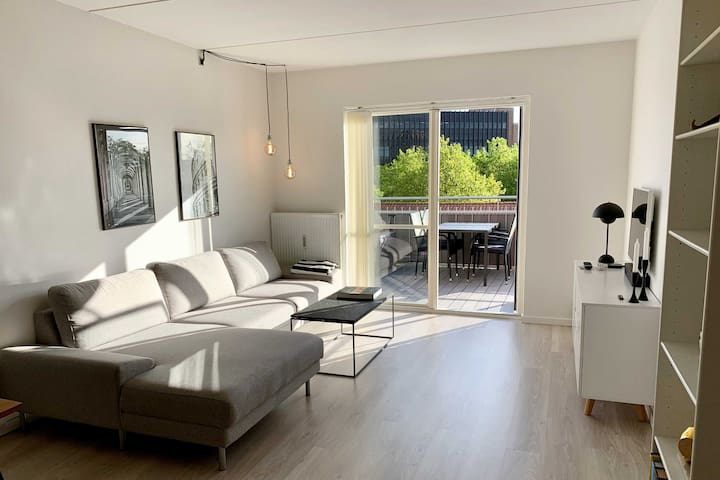 Modern apartment in the center of Odense