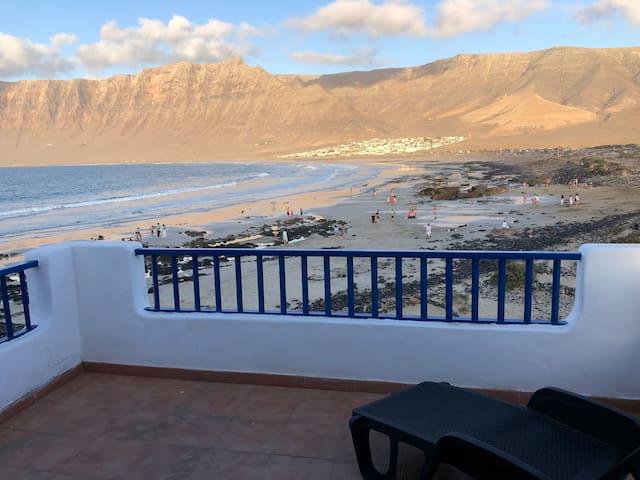 Casa en primera linea de playa