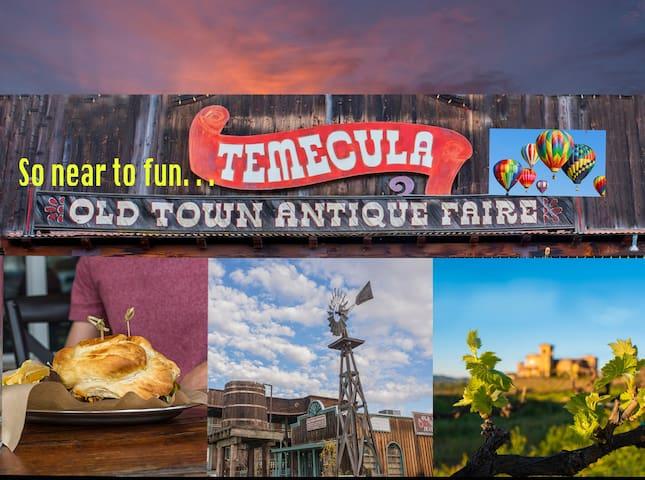 TEMECULA AREA--Quiet & Clean, Pool+Breakfast!