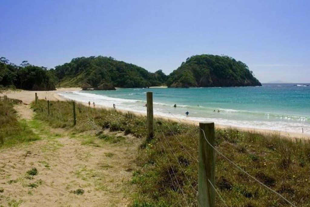 Matapouri Bay - A short walk to this beautiful bay