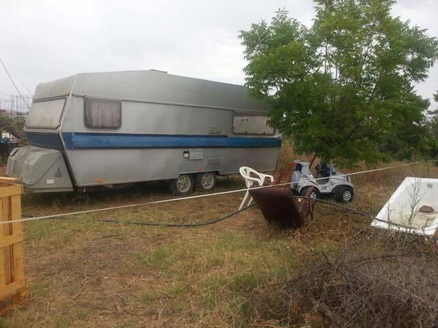 Caravan  in the pure nature in Rio Grande.