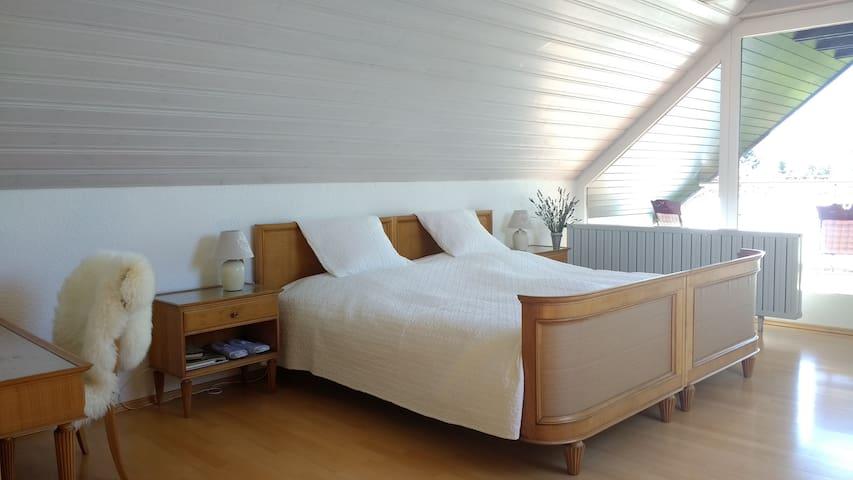 Wunderschöne Wohnung im Grünen, mit Pool - Lorch - Casa