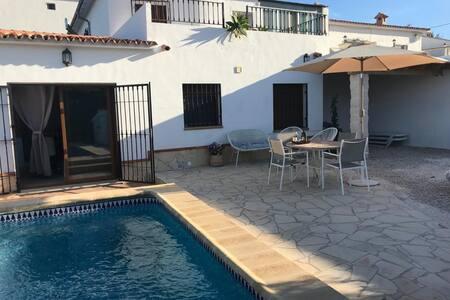 Casa con piscina privada en el centro de Altea