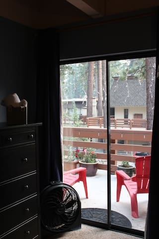 Balcony of 3rd bedroom and master