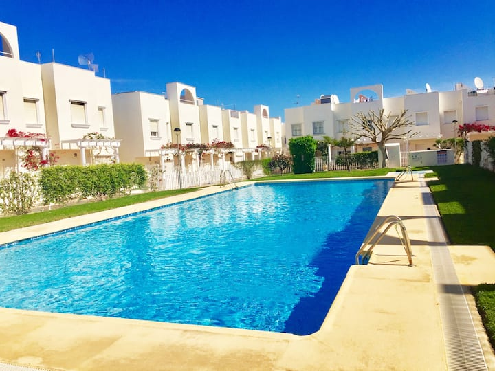 2 Bed House With Pool Near Beach and Golf