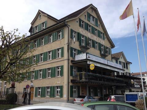 Hotel 3 König - Doppelzimmer Budget A (Etagenbad)