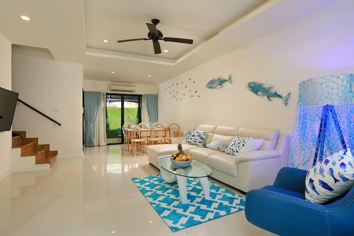 HOT PRICE!!! 3 BR Marina House by GetYourPhuket