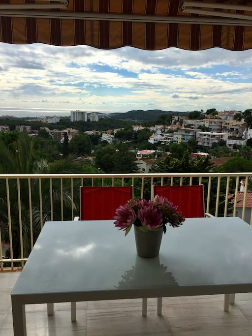 Amazing views of Sitges, the sea and surroundings