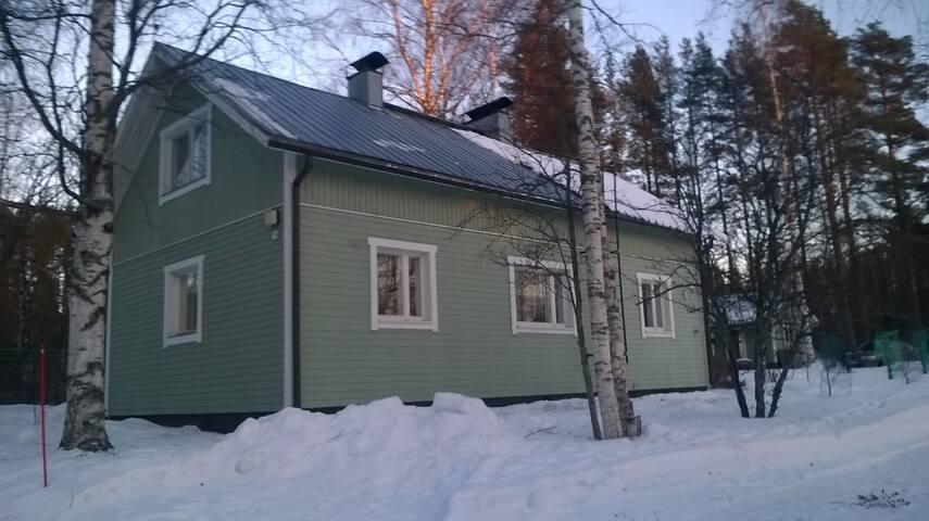 Контиолахти, изолированная половина дома