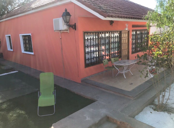 villa next to the yumbo with private pool for 8 pe