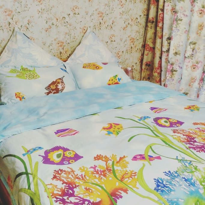 舒适浪漫的卧室环境