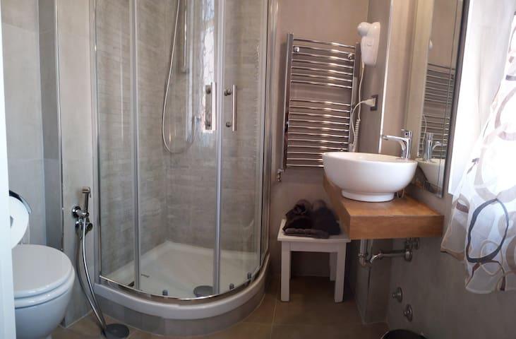 Bagno privato BALCONY ROOM