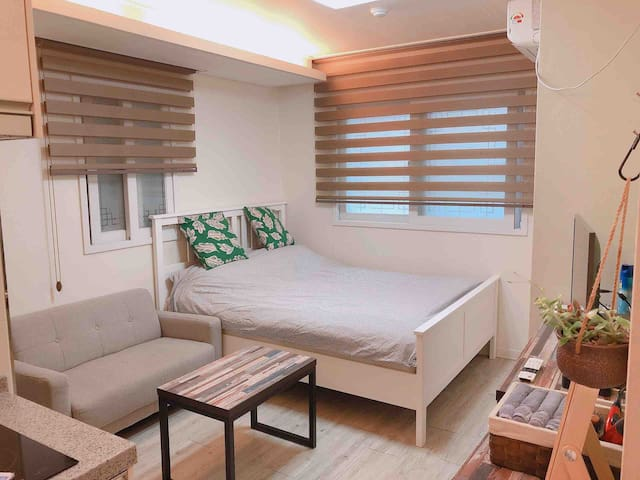 ★Clean & Nearby ★Just 1min from Metro&bus station!