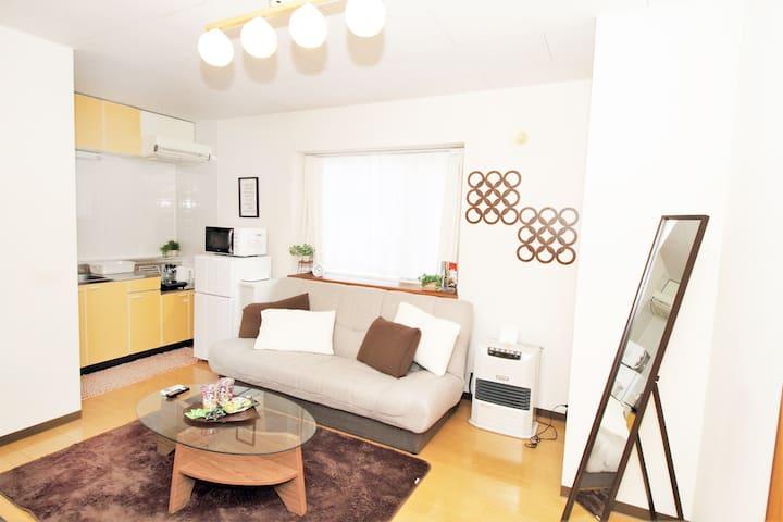 Easy access 5 min Sapporo center!! - Sapporo-shi - Apartment