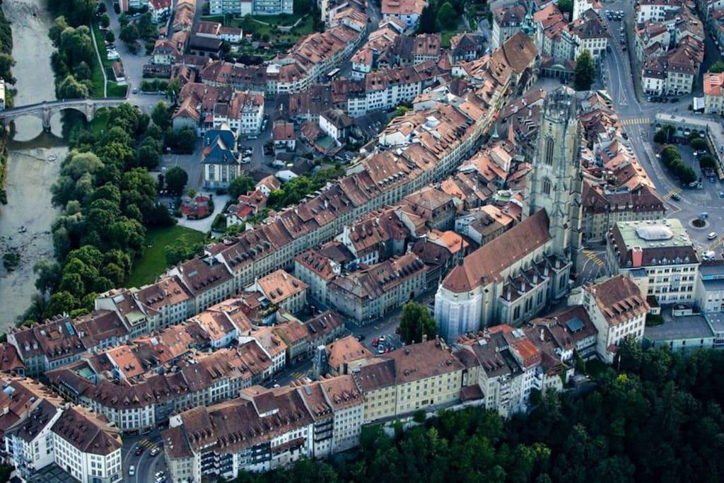 Le Bourg, quartier historique