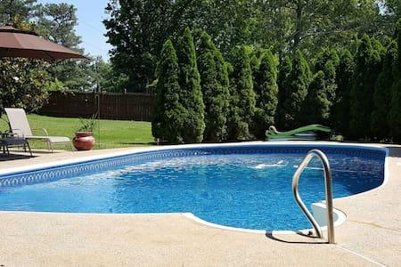 Quiet Marietta Home with Private Salt Water Pool - Marietta