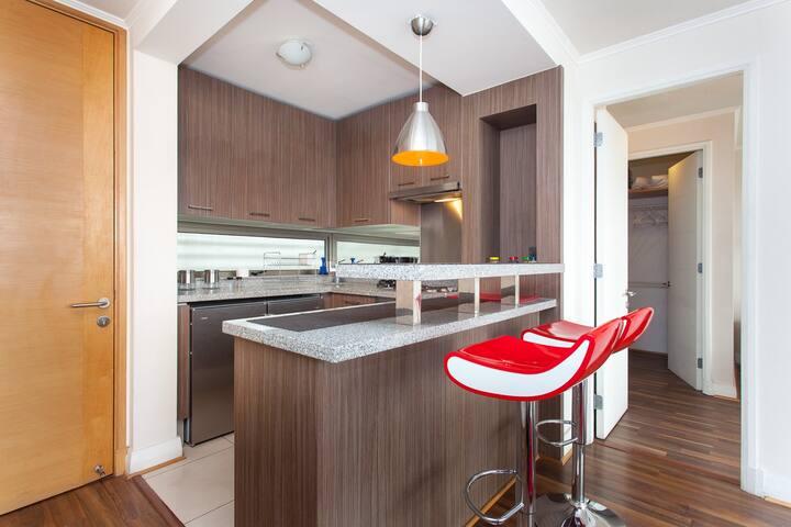 8. myLUXAPART Las Condes 1 hab - Santiago - Apartamento