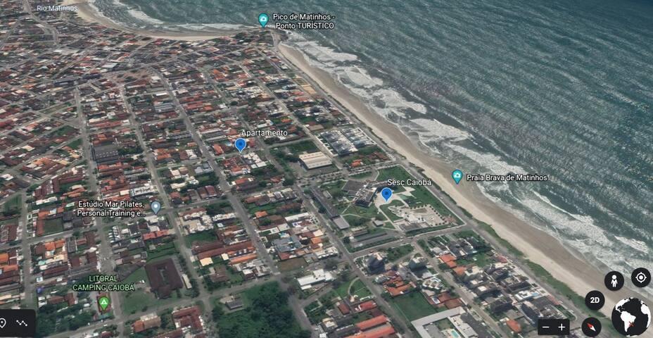 Apartamento duplex em Caiobá (duas quadras do mar)