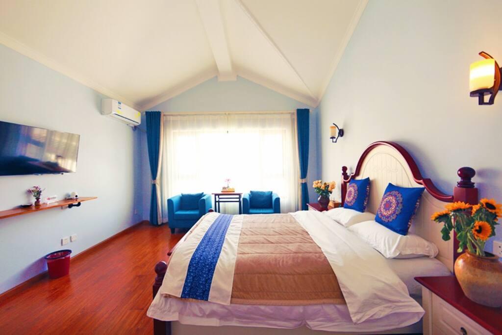三层地中海大床房