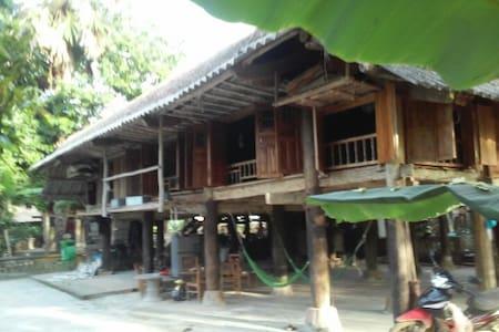 Vu Linh homestay (stilt house) - Yên Bình