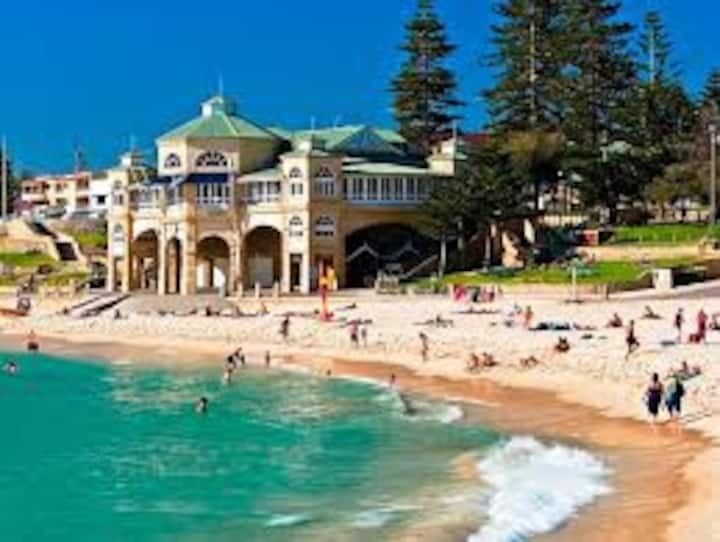 200 metres to one of Perth's most iconic beaches