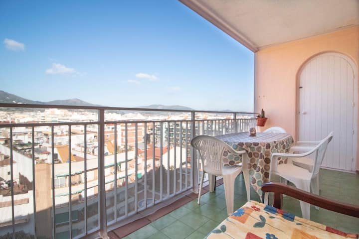 Atic apartment by the beach with great views